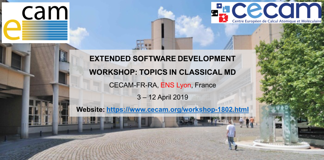 Topics in Classical MD - Extended Software Development Workshop